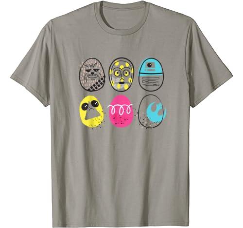 Star Wars Rebel Heroes As Easter Eggs T Shirt