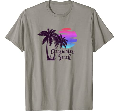 Clearwater Beach Family Trip Vacation Spring Break Honeymoon T Shirt