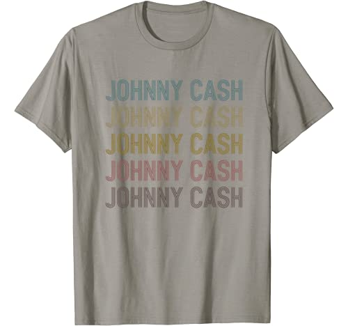 Johnny Tshirt Cash First Given Name Pride Graphic Distressed T Shirt