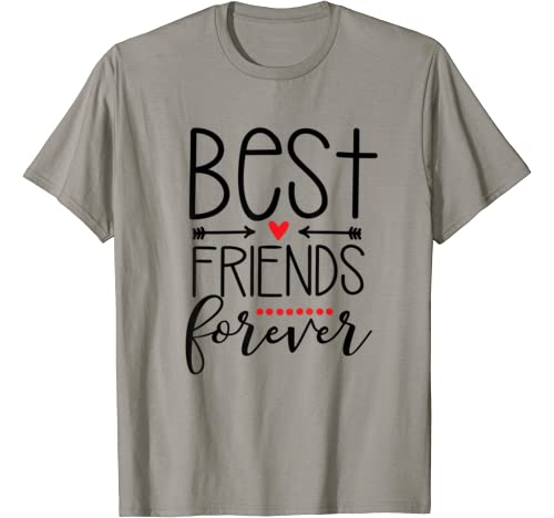 Cute Valentines Day Gifts For Boys Girls Best Friend Forever T Shirt