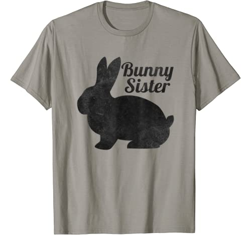 Easter Family Matching Mother's Day Bunny Sister Funny Gifts T Shirt