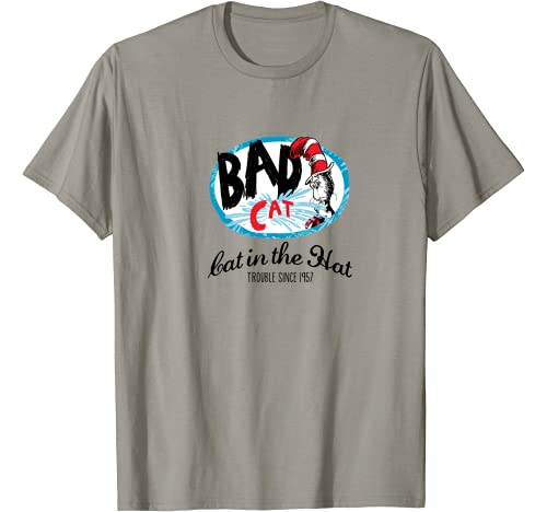 Dr. Seuss Bad Cat Since 1957 T Shirt