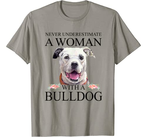 American Bulldog Mom Mama Funny Mother Grandma Gifts Women T Shirt