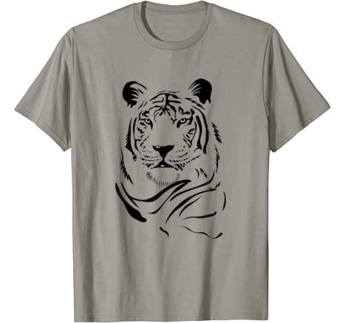 Tiger Face Look Gift Your Best Friend Brother Sister T Shirt