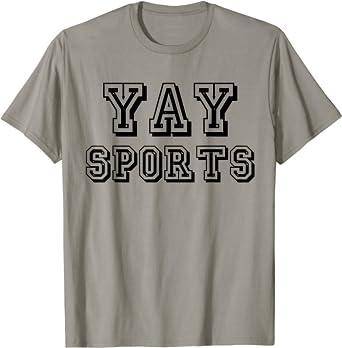 yay sports sport uniform tshirt team shirt pink shirt athletic wear sports tshirt graphic tshirt