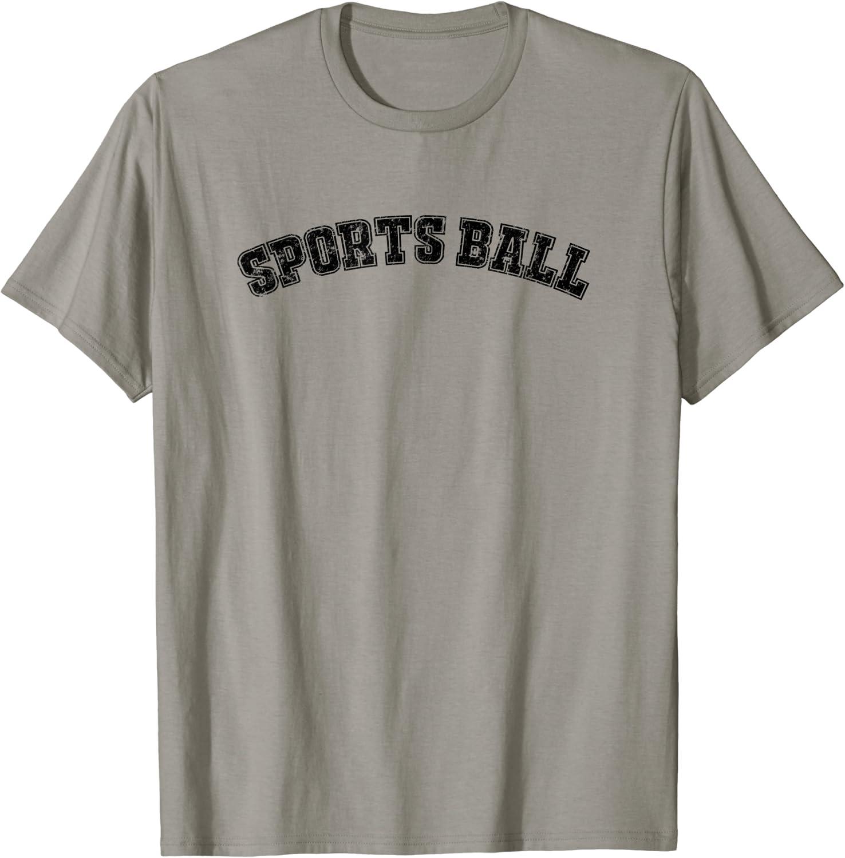 Sports Ball T-shirt for Sportsball fans