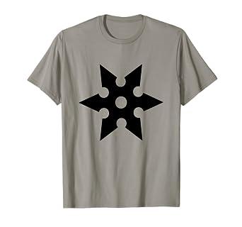 Amazon.com: Shuriken T-Shirt Ninja Star Samurai Japan ...