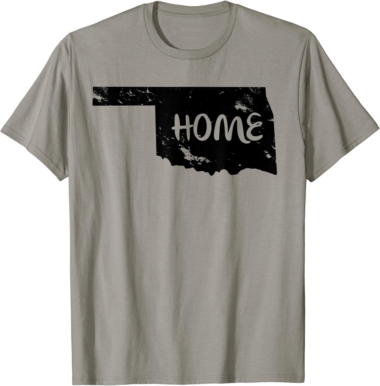 Vintage Home Oklahoma is Home T-Shirt