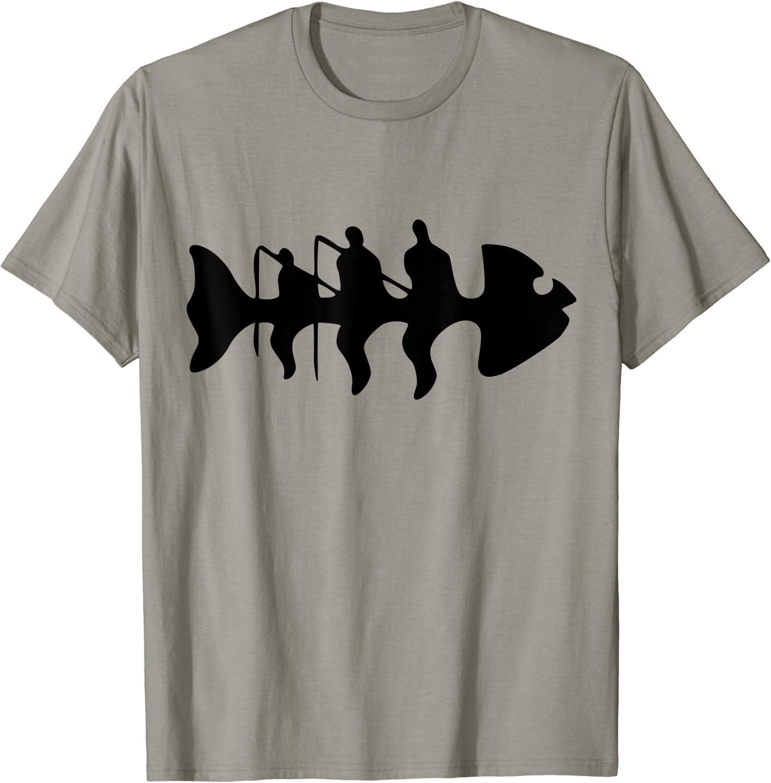 Fishbone T-shirt Fish Fisherman Fishing Shirt