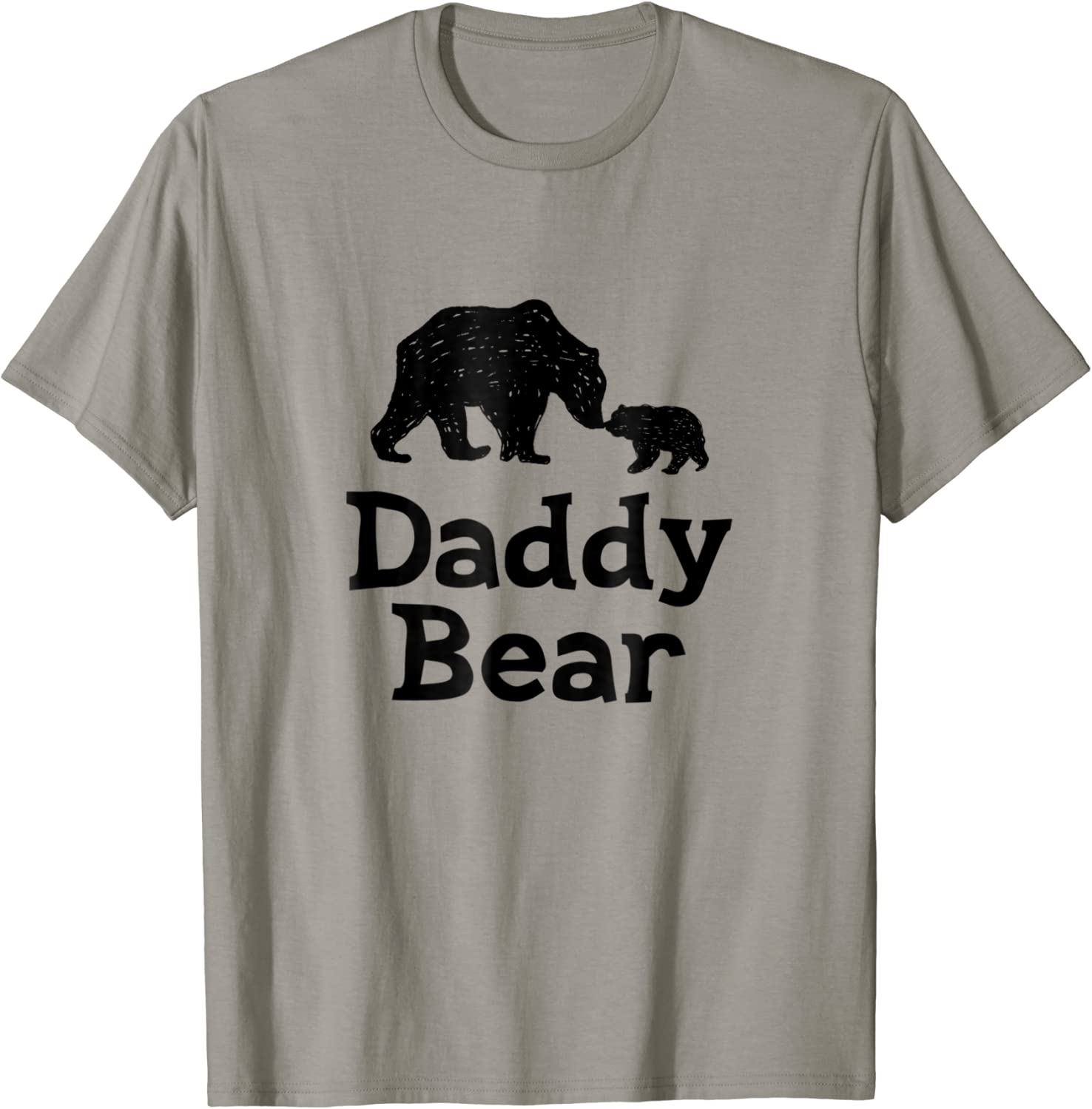 DADDY COOL Mens ORGANIC Gift T-Shirt Fathers Day Christmas Dad Birthday Eco Bear
