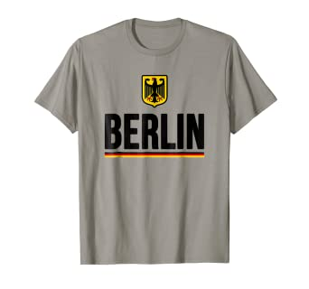 Amazon.com: Berlín Alemania playera ciudad alemana Tee ...