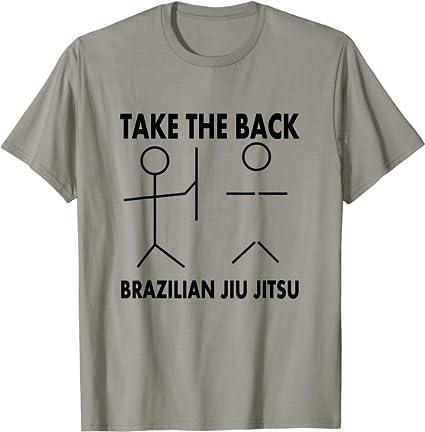 Jiu Jitsu T-Shirt Mens Enjoy Funny Martial Arts BJJ MMA Brazilian Training Top