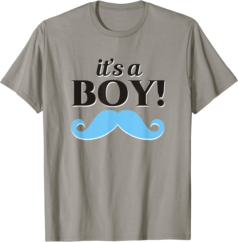 Women/'s Original It/'s A Boy Gender Reveal Party Shirt