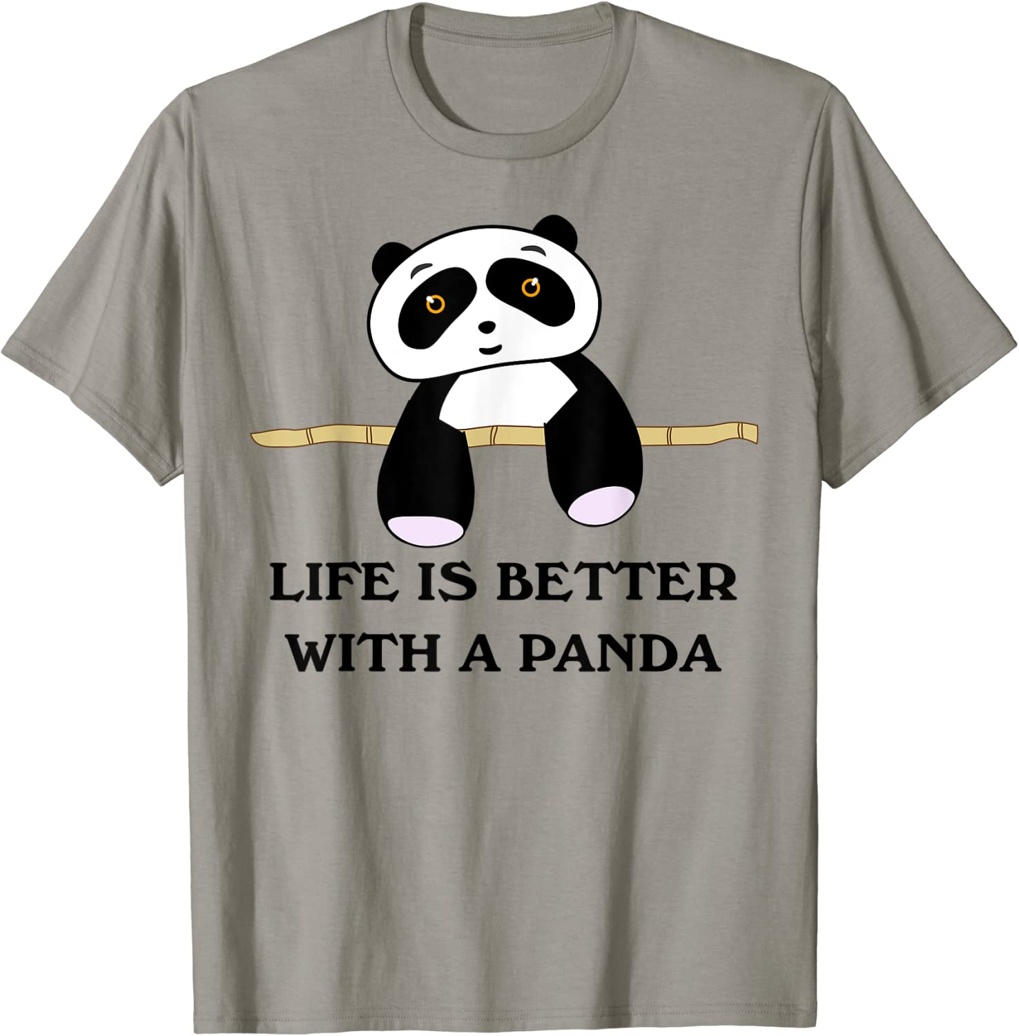 Life Is Better With A Panda Animal Bear T-Shirt