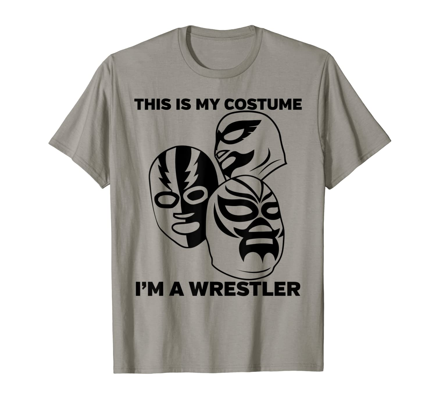 Wrestler Halloween Costume Tshirt