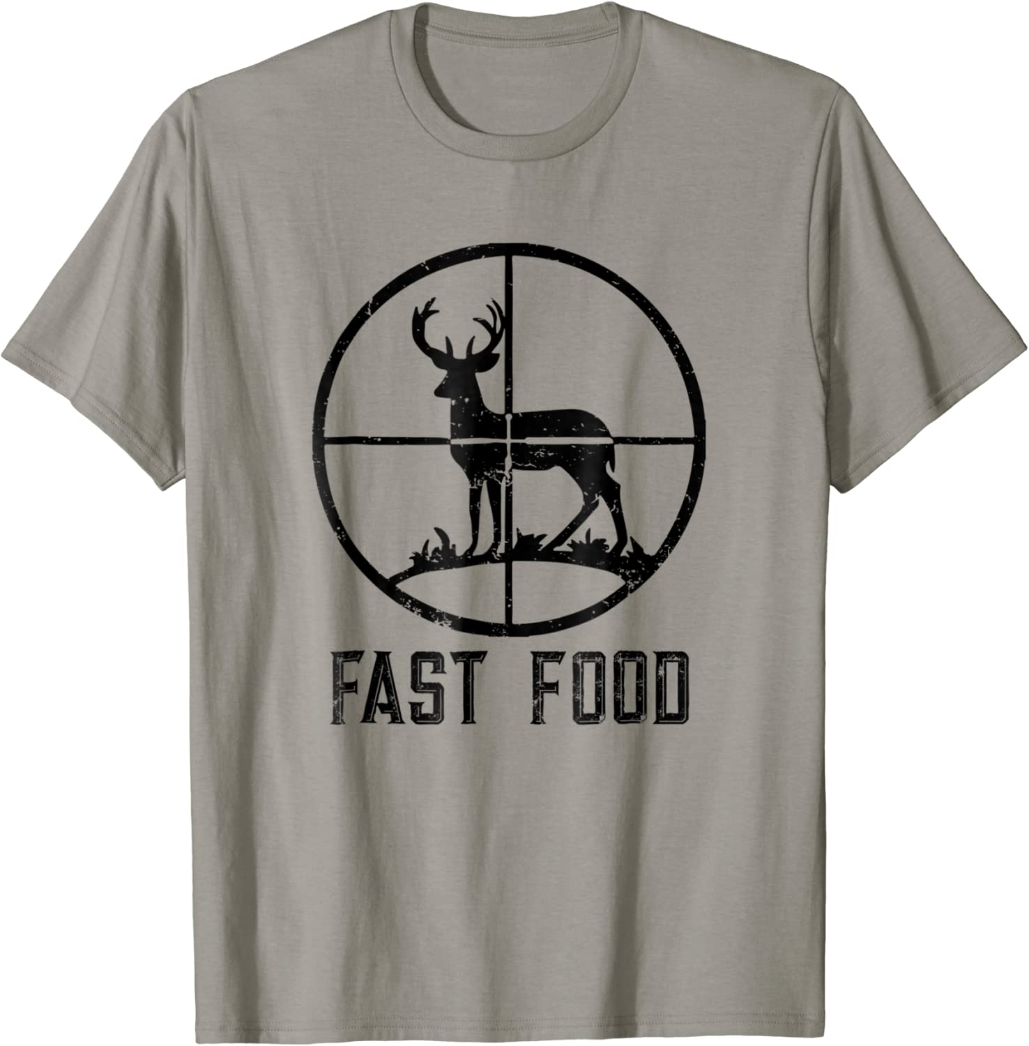 Fast Food Deer Hunting T-Shirt Funny Gift For Hunters