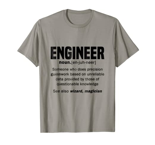Amazon.com: Funny Proud Engineer Quotes Gift, Engineers Noun ...