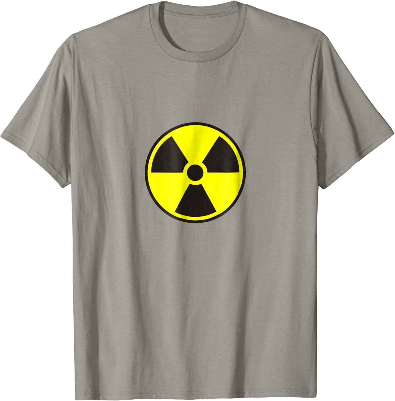 Radioactive Symbol T-Shirt Tee Shirt S M L XL 2XL 3XL Cotton radiation