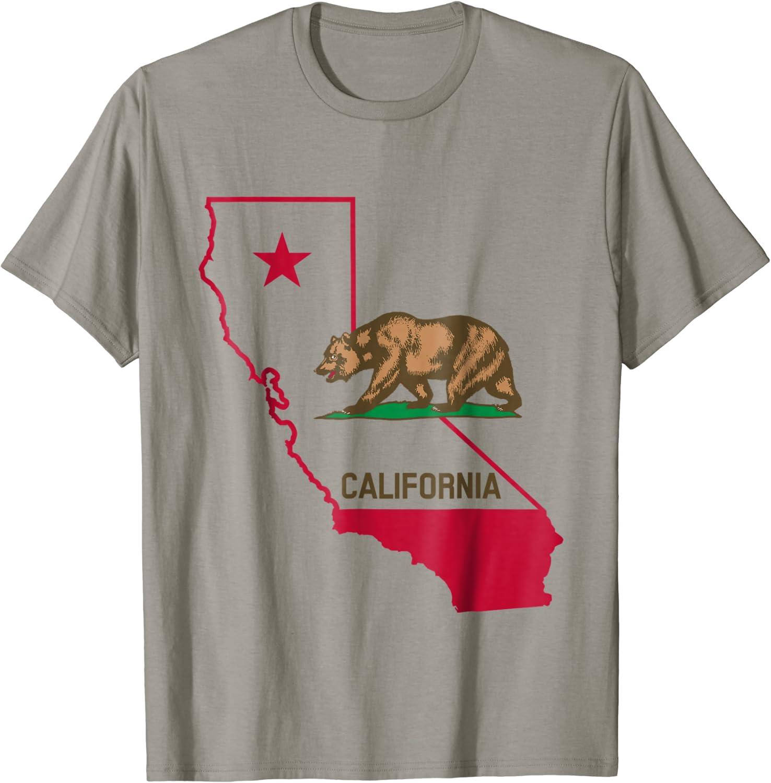 Cali Bear California Republic Graphic T shirt