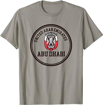 Abu Dhabi T-Shirt United Arab Emirates UAE Shirt