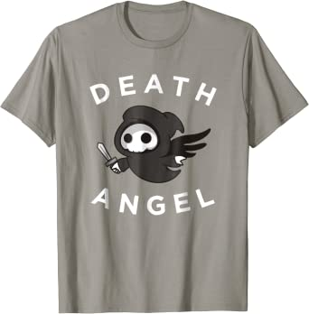 Cute Death Angel T-Shirt, Grim Reaper Graphic Tee