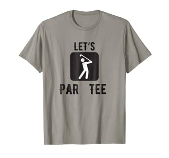 Amazon.com: Let s Par Tee Clubbing Funny palos de golf ...