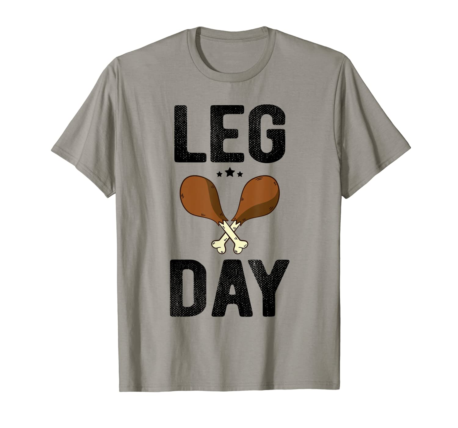 Leg Day T Shirt Thanksgiving Turkey Day Funny Gift-ANZ