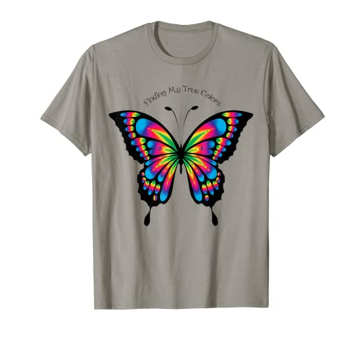 4d8afc5eff Amazon.com: Butterfly T-Shirt For Women Girls Clothing: Clothing