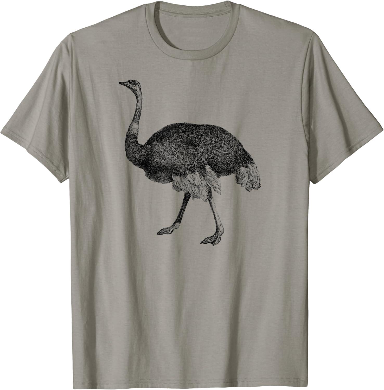 Mintage Walking Ostrich T-Shirt