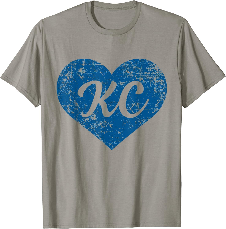 Kansas City Heart Graphic Tee T-Shirt