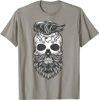 t-shirt tête de mort homme 5