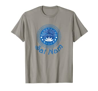 Amazon.com: Kundalini Yoga camisa – SAT Nam T Shirt ...