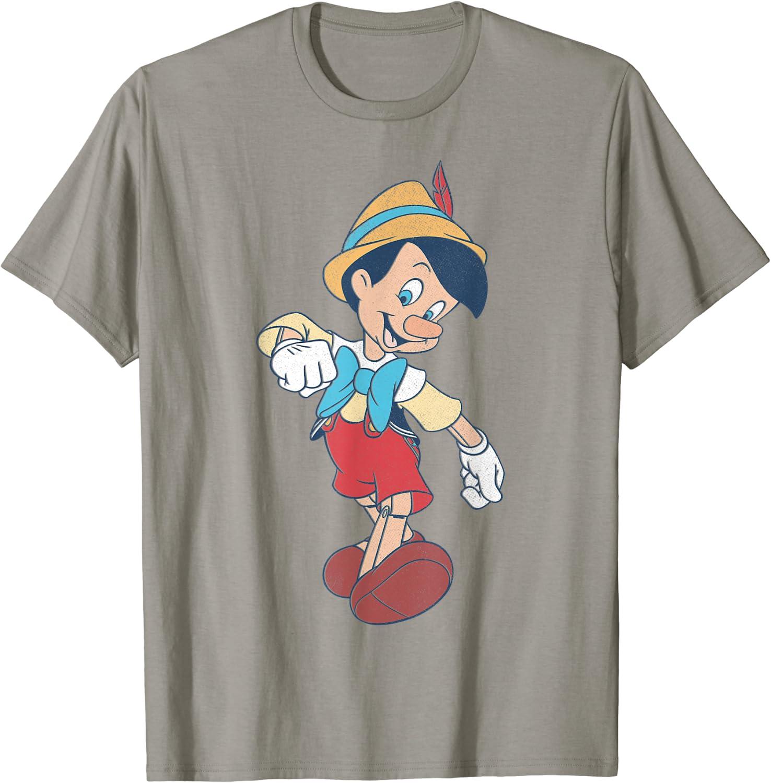 Disney Pinocchio Vintage Portrait T-Shirt