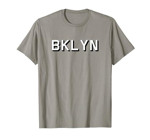 Amazon.com  BROOKLYN T-Shirt BKLYN  Clothing 7810bc14089