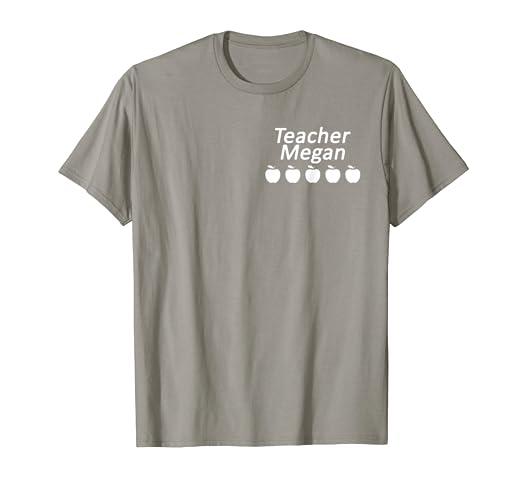 dfd3d6a4 Image Unavailable. Image not available for. Color: VIPKid Teacher Megan Five  Apples T-shirt