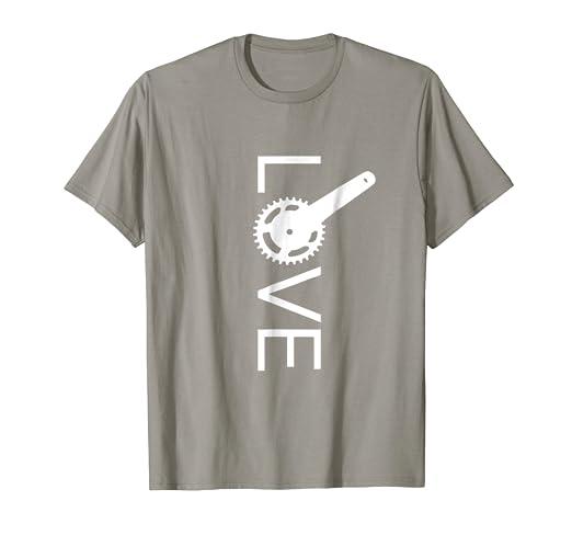 Amazon.com: LOVE Mountain Bike Shirts - Cool Design MTB T Shirt ...
