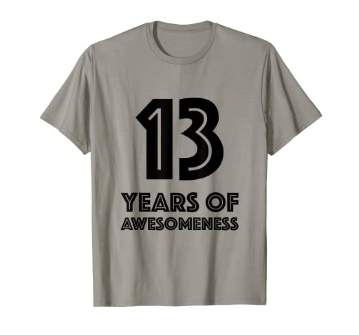 Image Unavailable Not Available For Color 13th Birthday Shirt