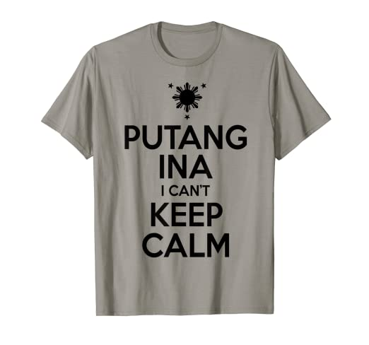 d0ff689f Image Unavailable. Image not available for. Color: Funny Filipino T-Shirt  ...