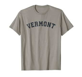 97c9ac4ed0fb29 Amazon.com  Vintage Vermont T Shirt Old Retro Vermont VT Sports Gift ...
