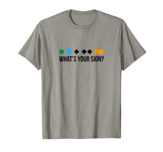 f91c3bb0 Amazon.com: Funny ski skier or snowboard What's Your Sign shirt gift ...