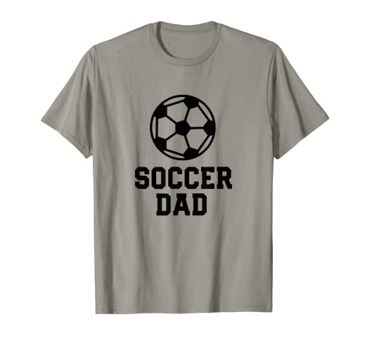 2b45edd2de Image Unavailable. Image not available for. Color: Mens Funny Dad Soccer  Fan Shirt for Men ...