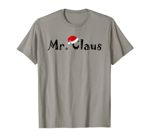 be09aa798f Amazon.com  Mr. Claus and Mrs. Claus Shirt Couples Matching Pajamas ...