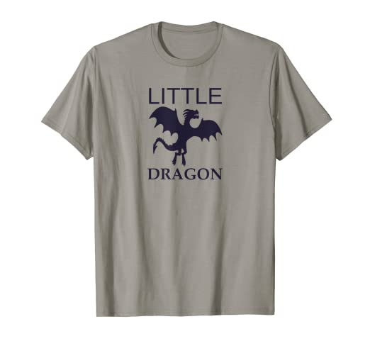 1ca34cb0a Image Unavailable. Image not available for. Color: Little Dragon T-Shirt  Cool Funny Toddler Boys ...