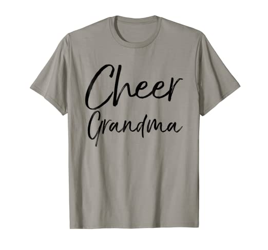 24121ab62c Image Unavailable. Image not available for. Color: Cheer Grandma Shirt Fun  Proud Cheerleader ...