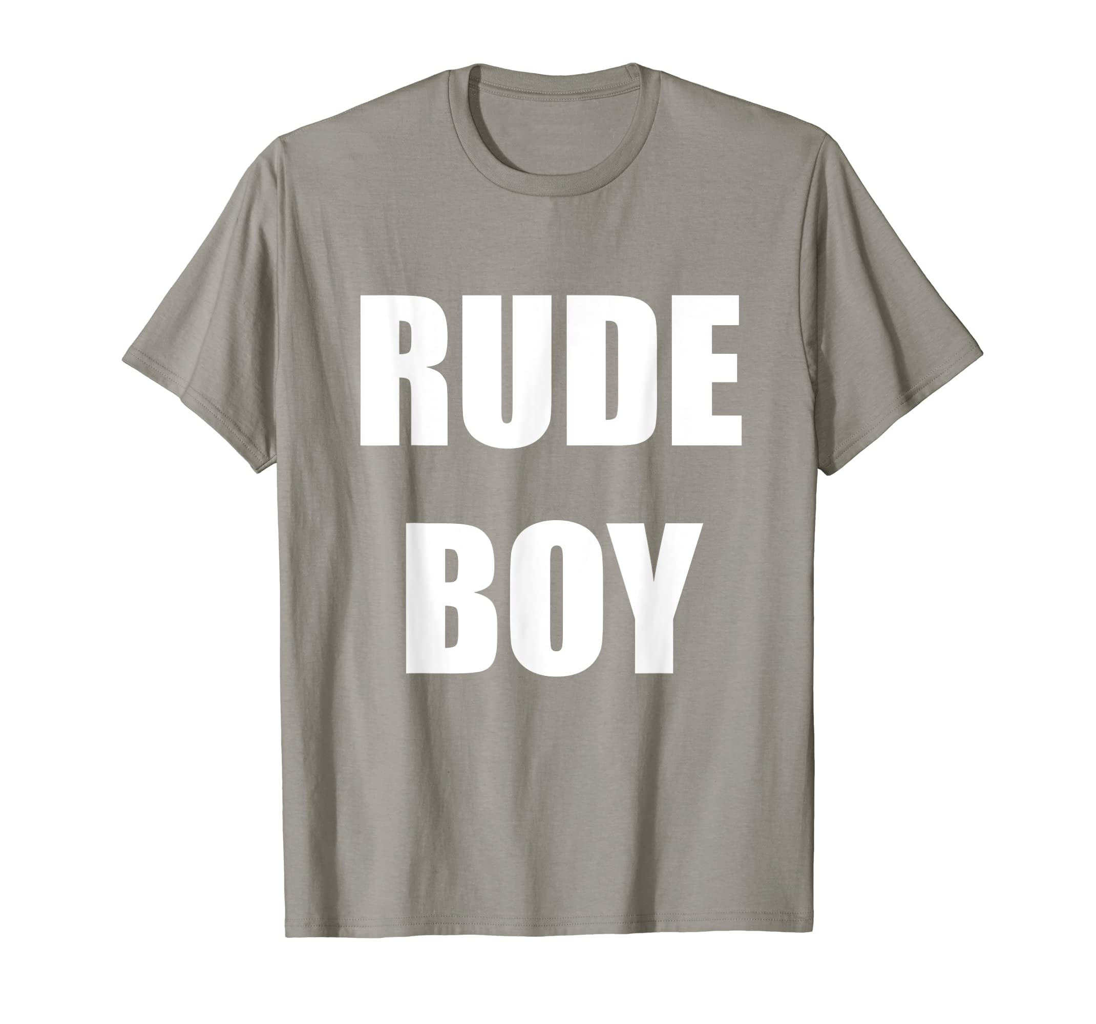 e1169bd12 Amazon.com: Rude Boy T-Shirt: Clothing
