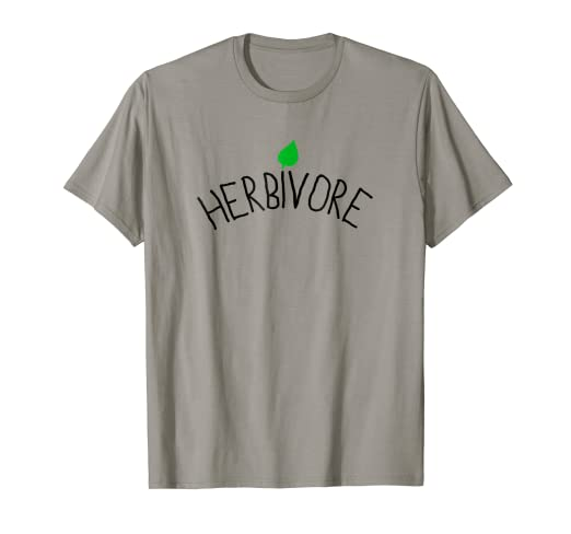 a2a7042a4c Image Unavailable. Image not available for. Color: Herbivore T-shirt - Funny  Vegan Tshirt Vegan Shirts Vegan