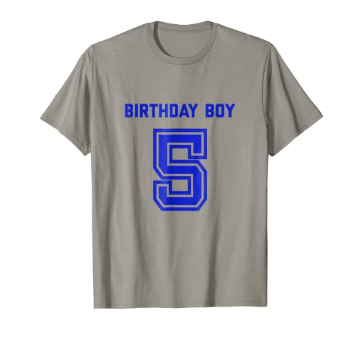 Image Unavailable Not Available For Color Boys 5th Birthday Shirt Gift Five Age 5 Year Old