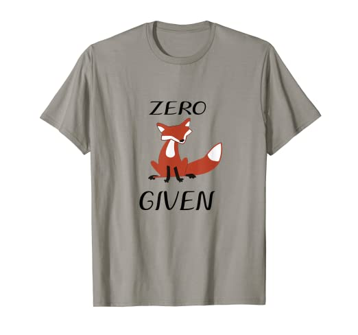 ffc2252ce Image Unavailable. Image not available for. Color: Zero Fox Given T-shirt