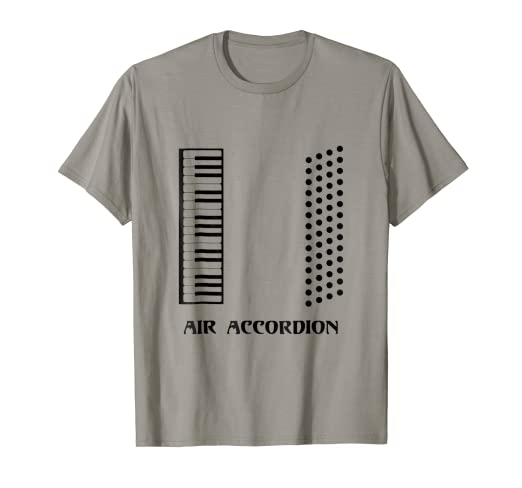 46734c29 Image Unavailable. Image not available for. Color: Funny Air Accordion T-shirt  Musical ...