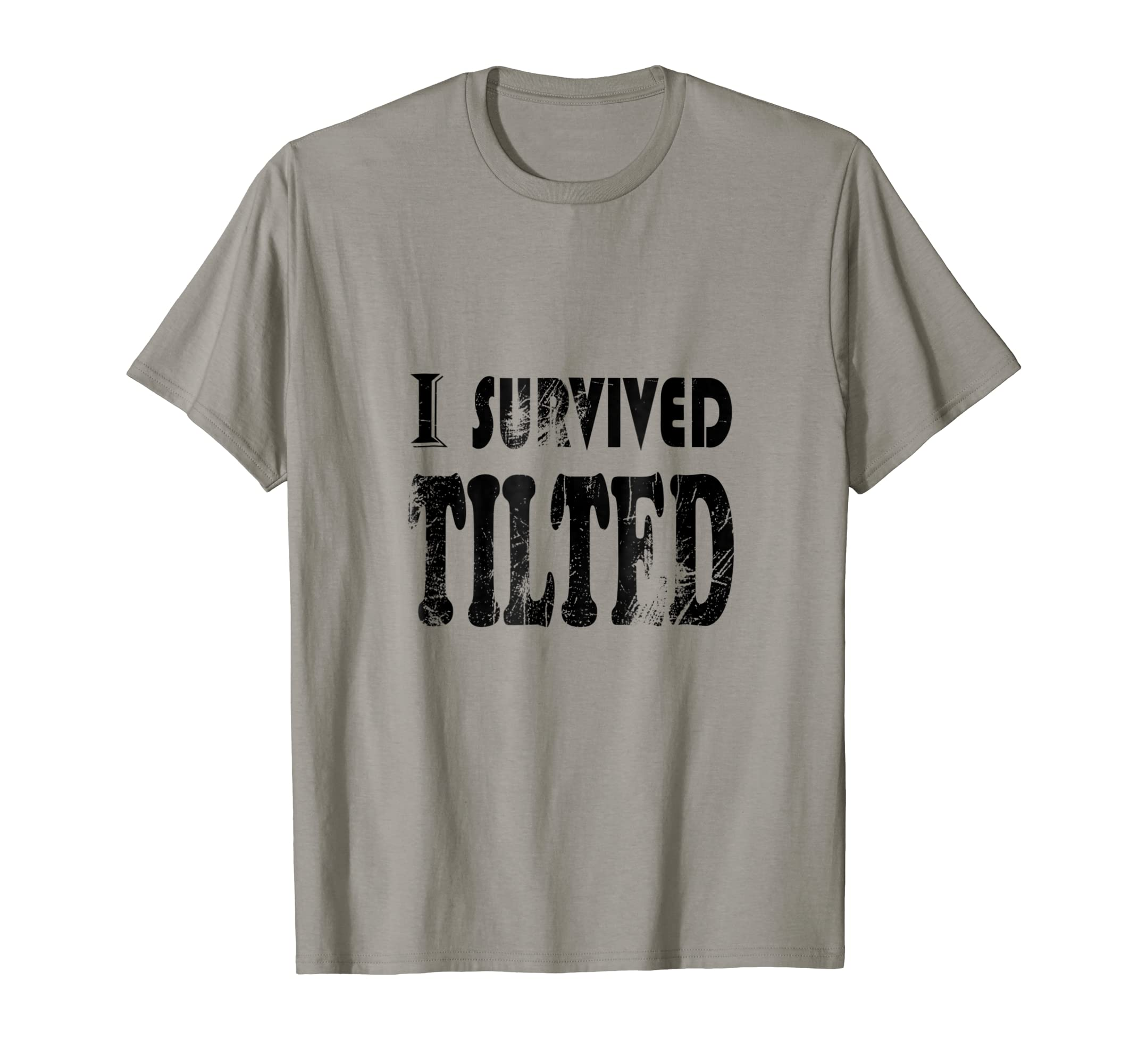 4b7ed1243 Amazon.com: I Survived Tilted Gaming Shirt: Clothing